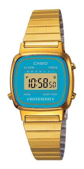 Relógio Casio Vintage Digital Feminino La670wga-2a