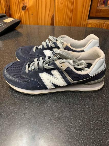 Zapatillas Newbalance 574 Azules