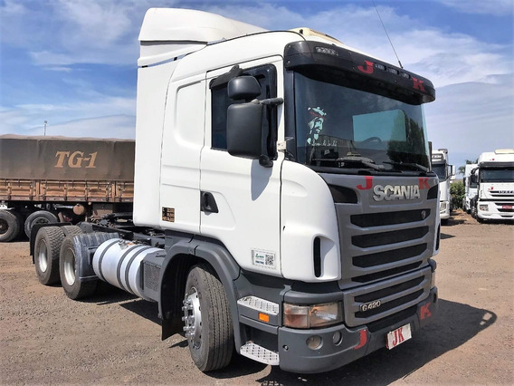Scania G-420 Ano 2011/12 6x4 Completo