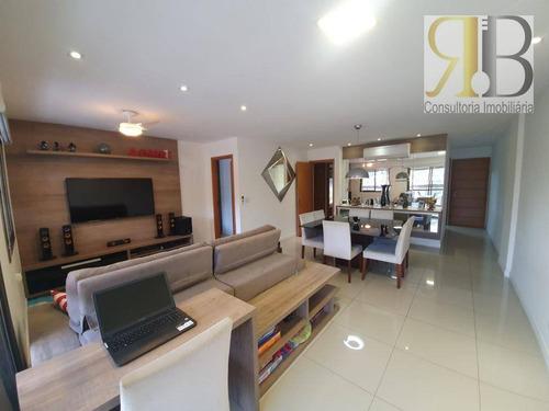 Apartamento À Venda, 130 M² Por R$ 800.000,00 - Freguesia (jacarepaguá) - Rio De Janeiro/rj - Ap2120