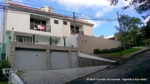 Sobrado Com 3 Dormitórios À Venda Com 259.66m² Por R$ 644.000,00 No Bairro Bom Retiro - Curitiba / Pr - M2br-pelc