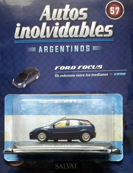 Autos Inolvidables Argentinos Salvat N° 57 Ford Focus 1998
