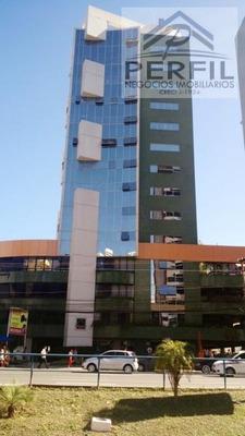 Sala Comercial Para Locação Em Salvador, Caminho Das Arvores, 1 Dormitório, 1 Banheiro, 1 Vaga - 844