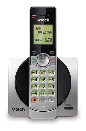 Imagen 1 de 2 de Teléfono inalámbrico VTech CS6919 negro y plateado