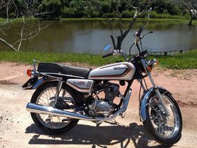 Cg Ml 125 Bolinha Placa Preta Honda Colecionador Ano 1982