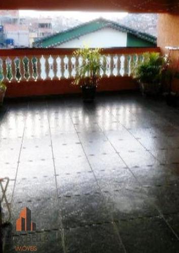Sobrado Com 3 Dormitórios À Venda, 176 M² Por R$ 380.000,00 - Sítio Dos Vianas - Santo André/sp - So1013