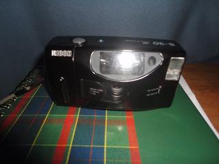 Camara Rollo 35 Mm Ricoh S-30 Funcionando Impecable $900