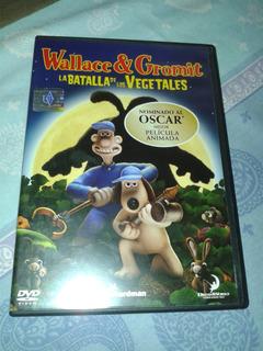 Dvd Wallace & Gromit La Batalla De Los Vegetales