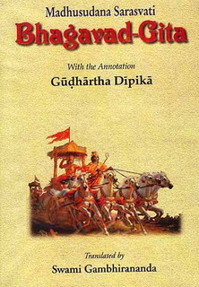 Bhagavad-gita With The Commentary Of Madhusudana Saraswati