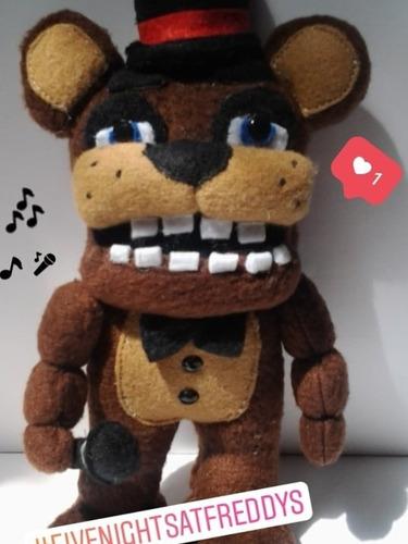 Peluche, Muñeco, Figura  De Freddy Animatronic Fnaf
