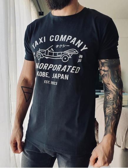 Remera Hombre Manga Corta H0947