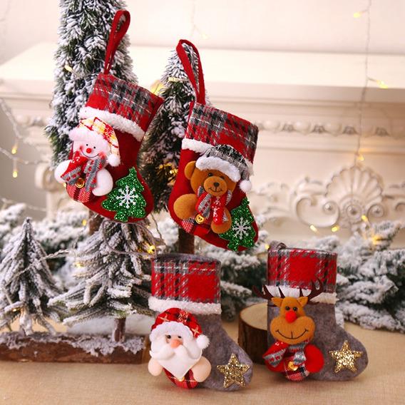 Como Decorar Calcetines Para Navidad.Calcetines Para Navidad En Mercado Libre Mexico