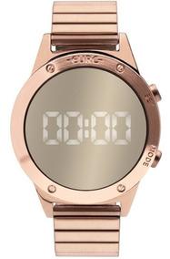 Relógio Euro Feminino Reflexo Fashion Fit Rosê Eujhs31bac/4d