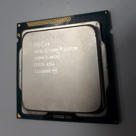 Processador Intel Core I7 3770