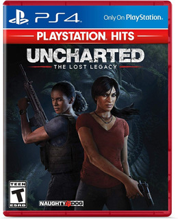Uncharted The Lost Legacy Playstation Hits Ps4 Nuevo Sellado