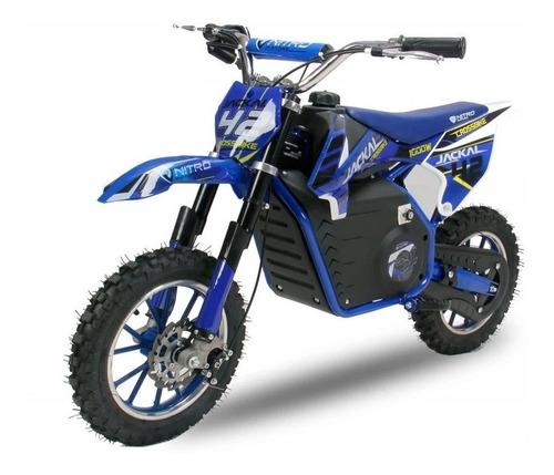 Moto Cross Electrica Bateria Extreme 36v 500w Unicas