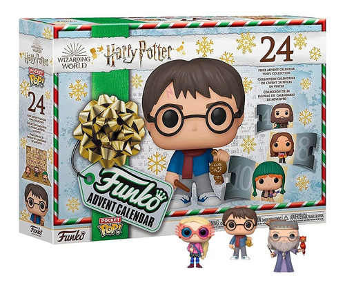Funko Pop Pocket Calendário 24 Bonecos Harry Potter Original