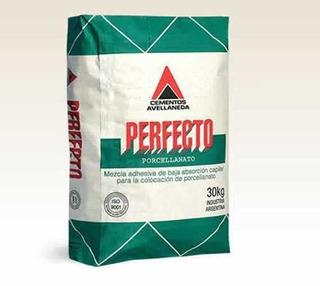 Pegamento Perfecto Para Porcelanato Bolsa X 30kg