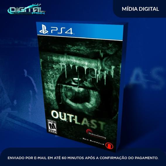 Outlast Ps4 Psn Digital Envio Agora 10 Minutos!