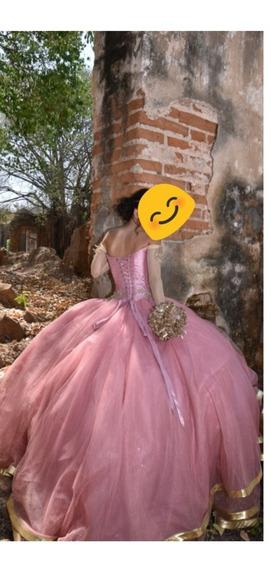 Vestido De Xv Años Color Rosa Palo