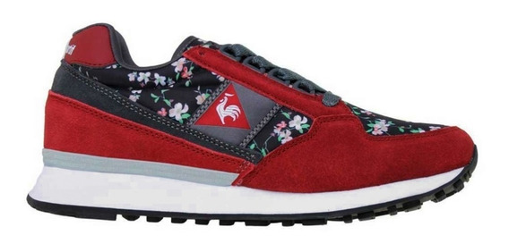 Zapatillas Le Coq Sportif Eclat Flower Print Urbanas Mujer 1