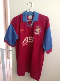 Camisa Aston Villa ( Inglaterra) 95-96