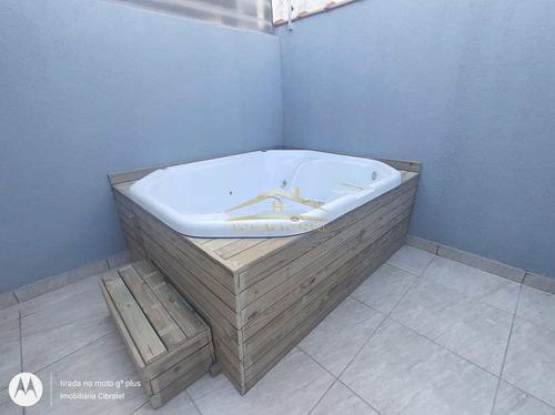 Imagem 1 de 13 de Casa De Condomínio Com 1 Dorm, Cibratel Ii, Itanhaém - R$ 149 Mil, Cod: 1442 - V1442