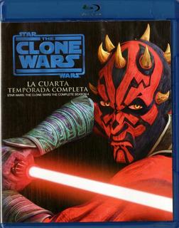 Clone Wars Guerra De Los Clones Temporada 4 Cuatro Blu-ray