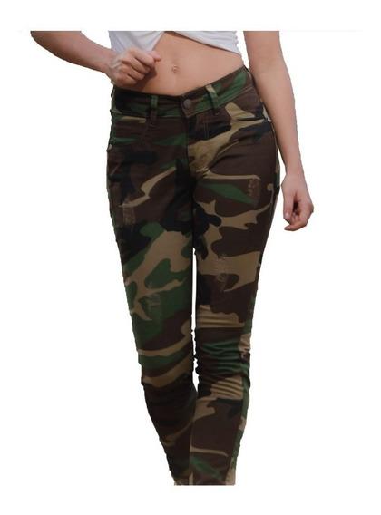 Calça Feminina Camuflada Tática Moda Militar Fox Boy Cores
