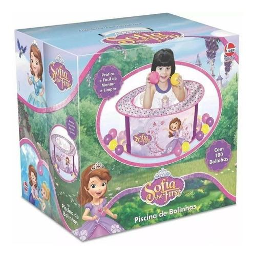 Brinquedo Piscina De Bolinhas Princesa Sofia Lider 2529