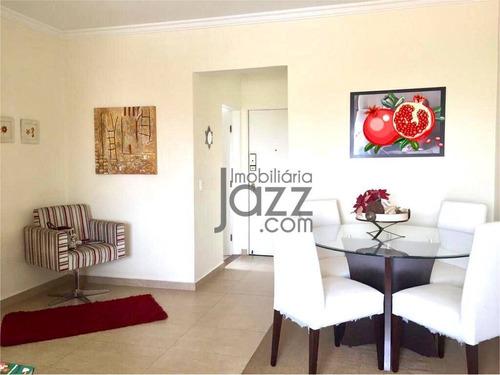 Apartamento Com 2 Dormitórios À Venda, 78 M² Por R$ 360.000,00 - Centro - Indaiatuba/sp - Ap5508