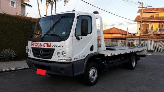 Mercedes Benz Accelo 815 Ano 2018 Guincho Plataforma