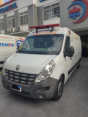 Ambulância Renault Master Marimar 2016