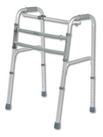 Imagen 1 de 5 de Andador Ortopédico - Aluminio Doble Funcion- Silfab-original