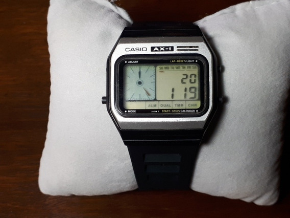 Relógio Casio Melody Ax1 - Raridade Dos Anos 80