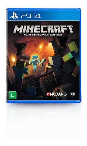 Jogo Game Minecraft - Ps4
