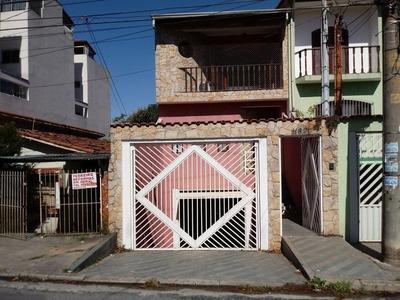 Sobrado Com 3 Dormitórios À Venda, 290 M² Por R$ 580.000 - Parque Novo Oratório - Santo André/sp - So20901