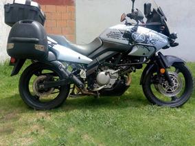 Suzuki Dl 650 Gris Celeste