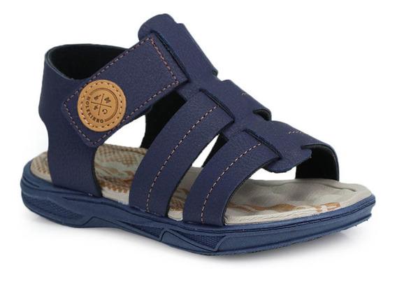 Sandália Infantil Molekinho Velcro