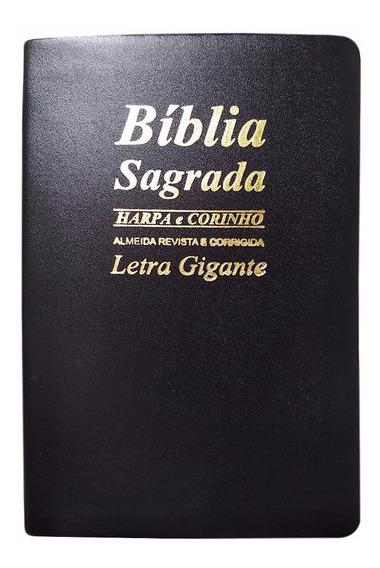 Bíblia Sagrada Letras Grandes Com Harpa