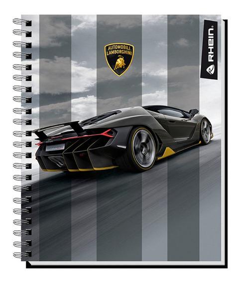 Pack 10 Cuadernos Universitario Rhein Lamborghini