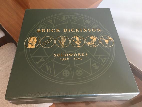 Bruce Dickinson - Soloworks Box Vinil Lp Selado Iron Maiden