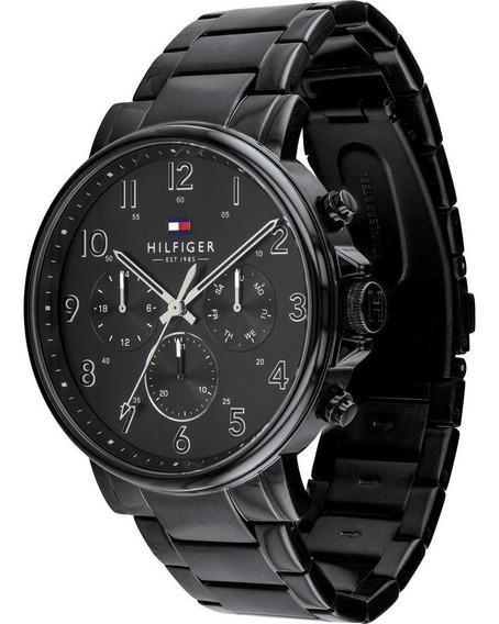 Relógio Tommy Hilfiger Daniel Aço Preto 1710383