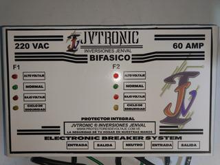 Protector Integral Bifasico 220 V 60 Amp.