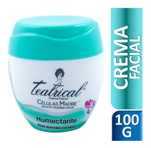 Crema Facial Teatrical Humectante X 100gr