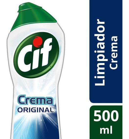 Cif X750 Cremoso Clasico X 12 Unidades