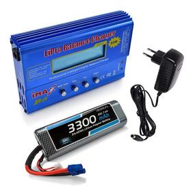 Carregador Imax B6 E Bateria Lipo 7.4v - 3300mah - Ec3