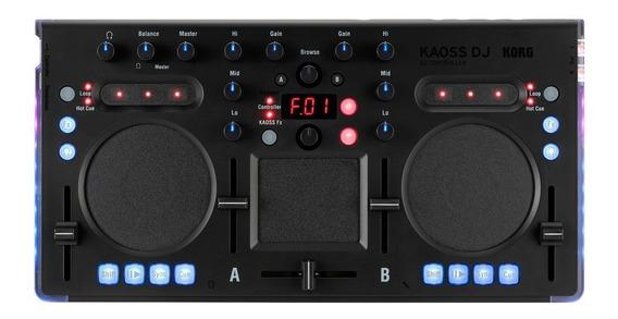 Korg Kaoss Dj Controladora + Pré Escuta + Mixer Mercado Full