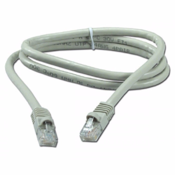 Patch Cord 1 Mt Categoria 5 Red Utp