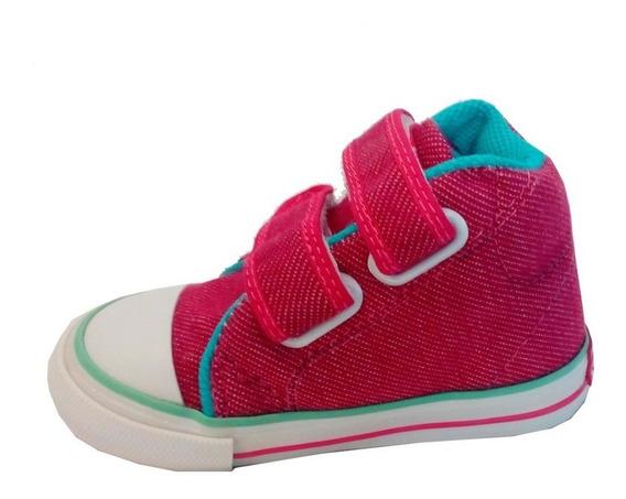 Zapatillas Botitas Bebe Lona Marca Small Mod. Twist (0325)